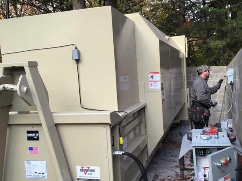 Compactor and Baler Repair