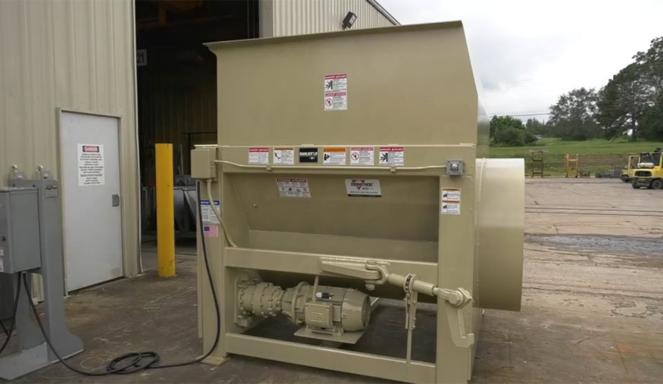 ast-320 stationary auger compactors
